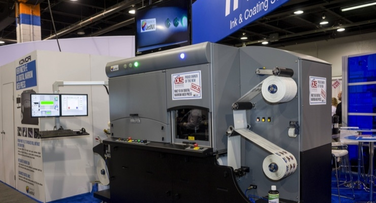 INX NW140 Narrow Web Digital Press