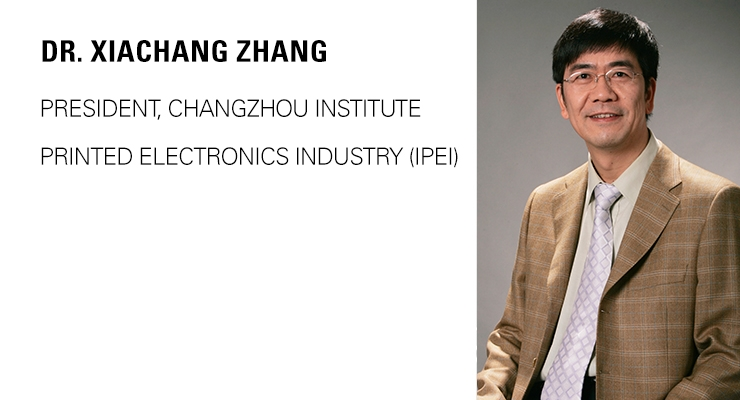 Printed Electronics Now Visits the IPEI in China