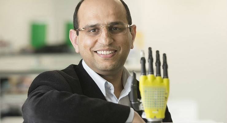 Dr. Ravinder Dahiya (Credit: University of Glasgow)