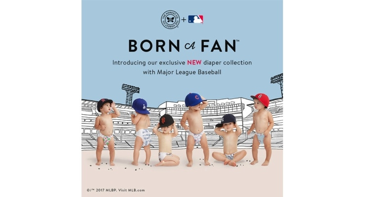 Honest, MLB Team Up for Baseball Diaper Collection