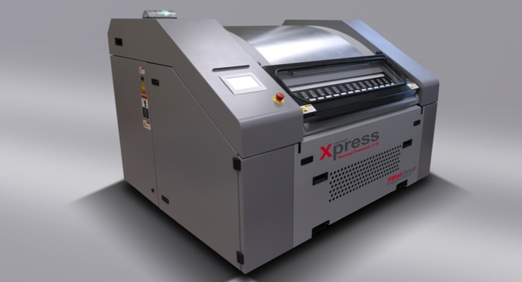 Flint Group launches new thermal plate processing technology