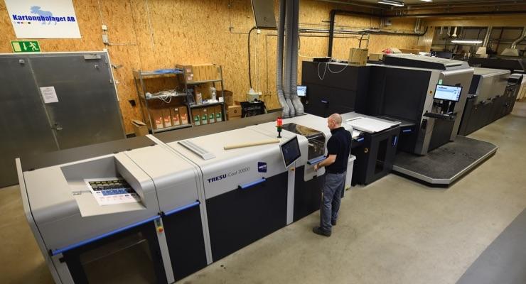 HP Indigo and Tresu provide boost to Swedish converter