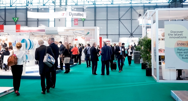 Exhibitors at INDEX