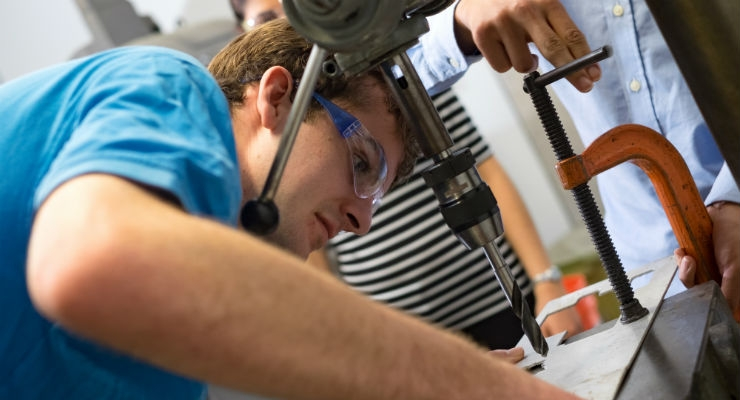 Stand-Up Students Design Aid for Prosthetic Patients