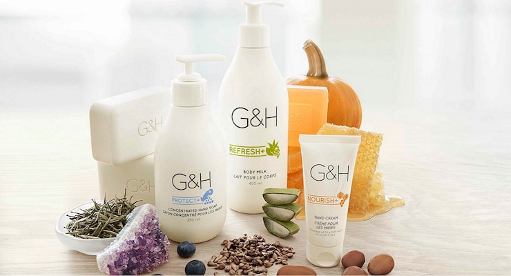 amway launches g amp h bath amp body care line   beauty packaging