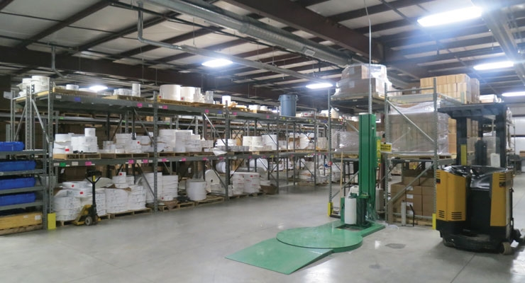 Liberty Marking Systems' growth spurred its recent expansion, which doubled the size of the warehouse from 8,000 square feet to 16,000 square feet.