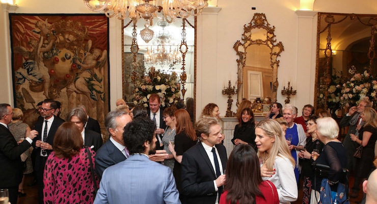 A Glamorous Launch Party for Lucia Magnani Skin Care