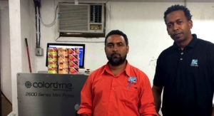 Trinidad Label Company goes digital with Colordyne 2600 Series Mini Press