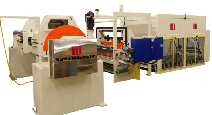 Martin Automatic adds custom unwind roll changer on new coating line