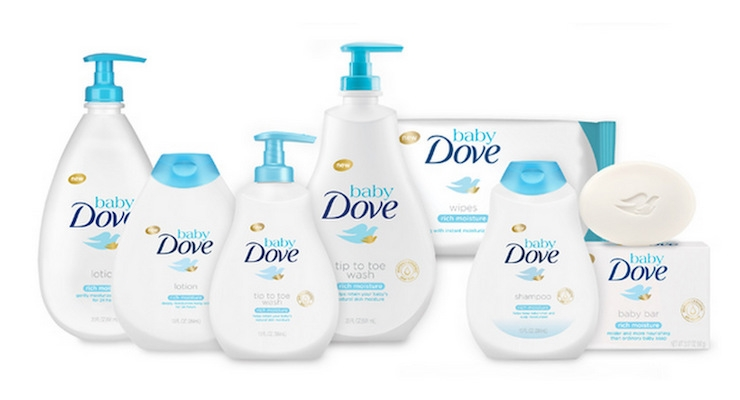 Baby Dove Line Debuts at Retailers Nationwide
