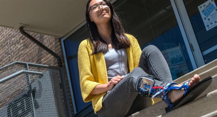 Hear the Buzz About Seniors' Sensor-Laden Shoes