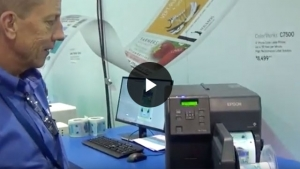 Epson highlights the C7500 at Labelexpo Americas