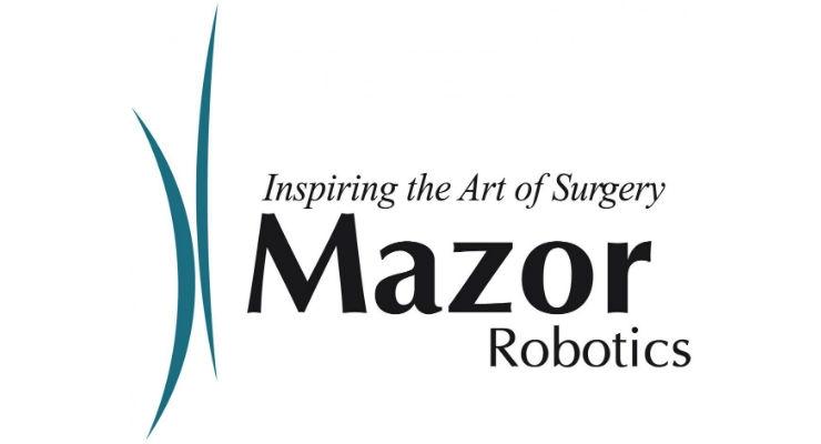 FDA Clears Mazor Robotics' Spinal Deformity Correction