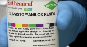 Sun Chemical uses SunVisto to clean anilox rollers