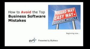 How to Avoid the Top Business Software Mistakes