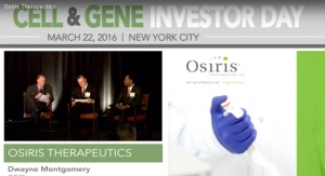New CEO Discusses Osiris Therapeutics