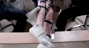 Paralyzed Men Move Legs with Help of Noninvasive Spinal Cord Stimulation (includes video)
