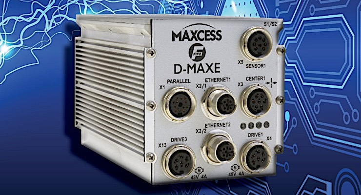 Maxcess to introduce new web guide controller at ICE USA