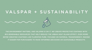 Valspar + Sustainability
