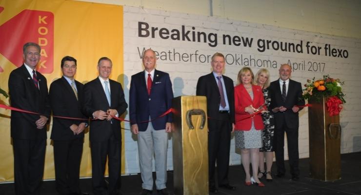 Kodak breaks new ground for flexo growth in Oklahoma