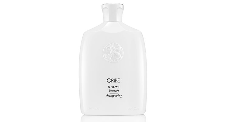 Silverati is the latest addition to the Oribe product lineup that's housed in white containers in keeping with the brand's signature look.