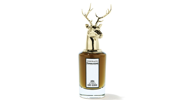 Penhaligon's fragrances' deer head cap in zamac by TNT Global Manufacturing.
