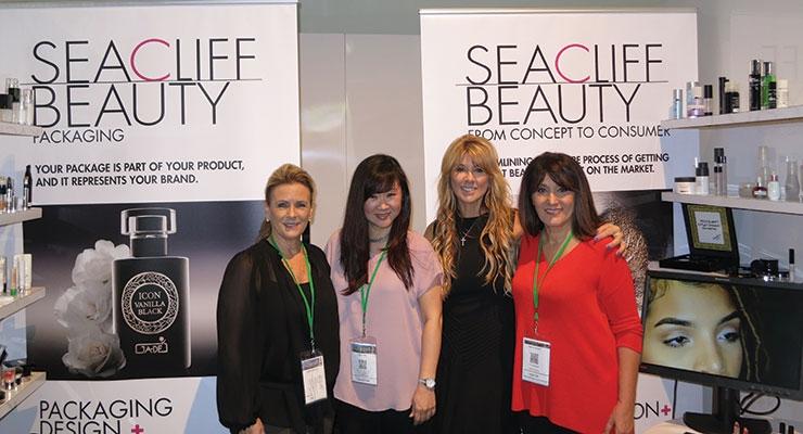 MakeUp in LA: Seacliff (L-R): Connie Fernandez, Helen Min, Vonda Simon, Ramina Khachi
