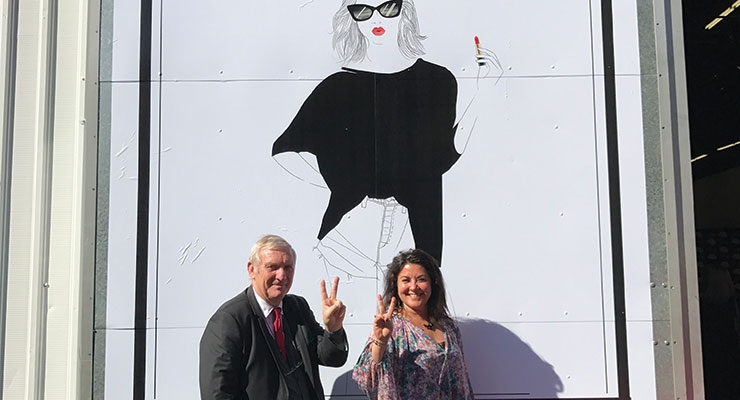MakeUp in LA:  Jean-Yves Bourgeois, Sandra Maguarian