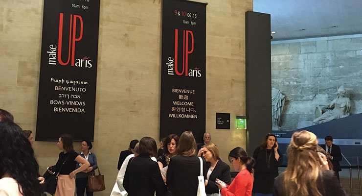 MakeUp in Paris opening day 2016