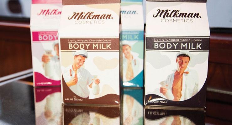 Second Place: Milkman  Cosmetics Cream Body Milk