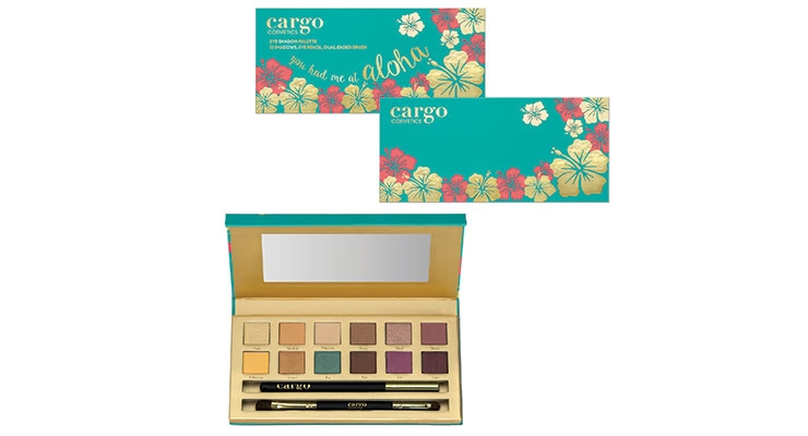 Cargo's Eye Shadow Palette Hints of Hawaii