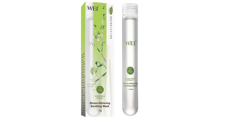 Wei's Stress-Relieving Mask Soothes and Hydrates