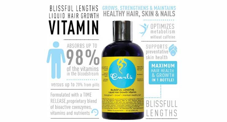 Curls Blissful Lengths Liquid Hair Growth Vitamin