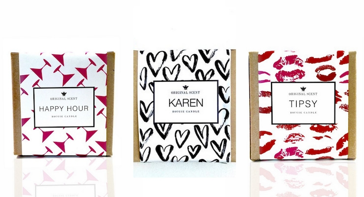 Home Fragrance Line Offers Personalized Patterns for Cartons & Labels
