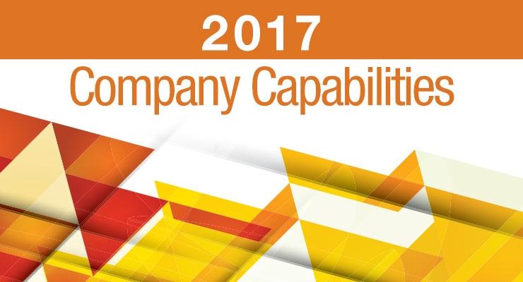 2017 COMPANY CAPABILITIES