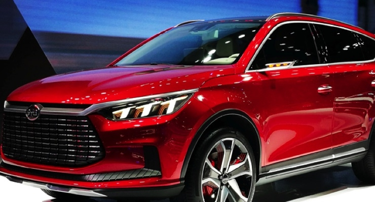 PPG Waterborne Coatings with ANDARO Pigment Bring Brilliance to New BYD Models at Auto Shanghai 2017