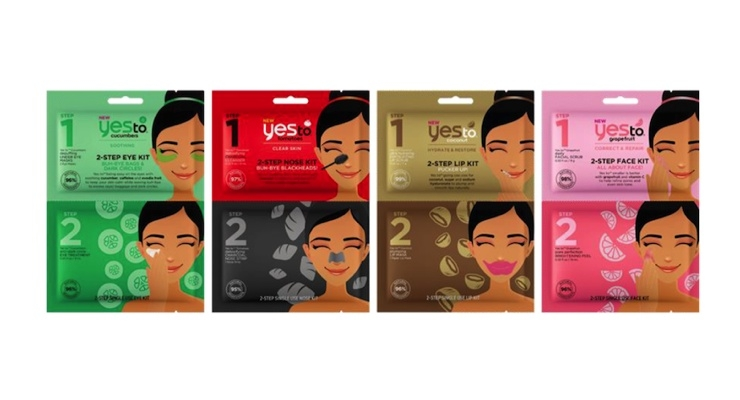 Yes to Expands Facial Mask Collection