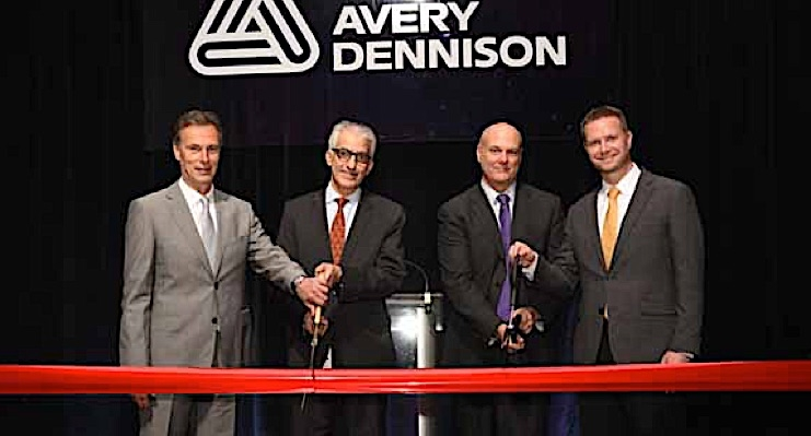 Avery Dennison opens expanded graphics materials production facility