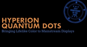 Nanosys Hyperion Quantum Dots - The SID Component of the Year for 2017