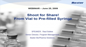 Shoot for Share: From Vial to Prefilled Syringe