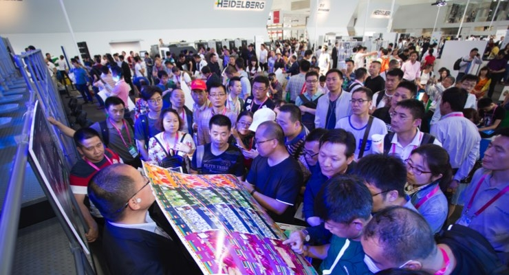 Heidelberg at China Print 2017