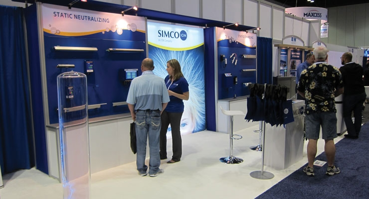 Simco-Ion Booth