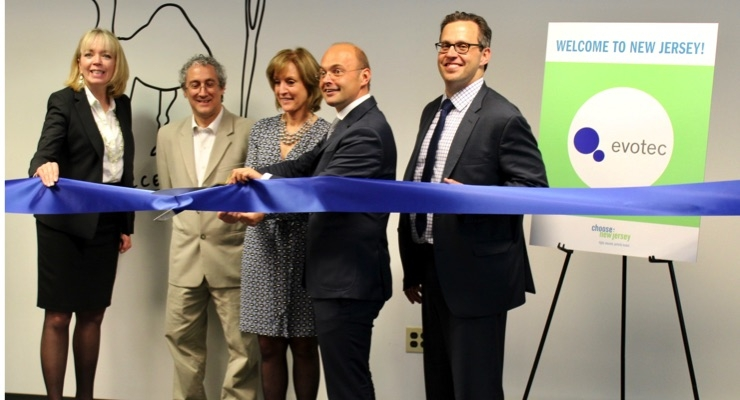 Evotec Opens U.S. HQ in NJ