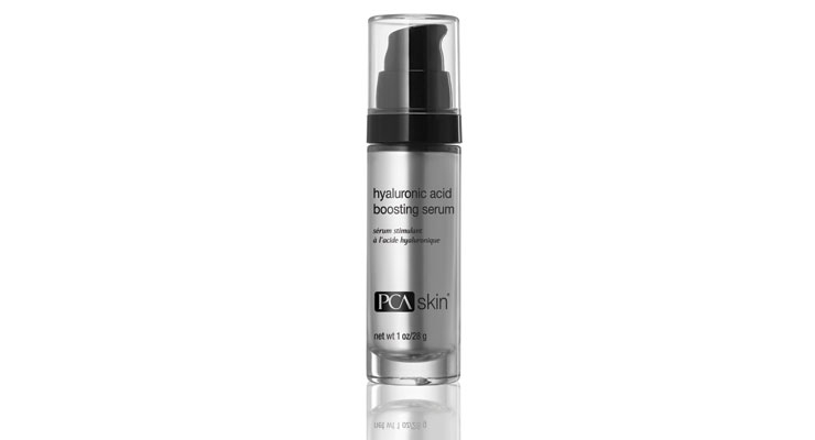 Hyaluronic acid is a key ingredient in this serum from PCA Skin.