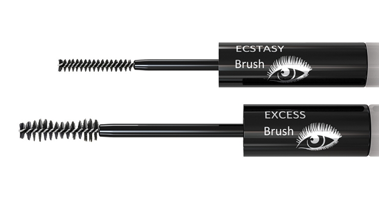 Albéa's Excess Lash provides a false-lash look, with eyes made up in three stages.
