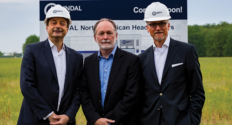 Lindal Breaks Ground for New Indiana Facility