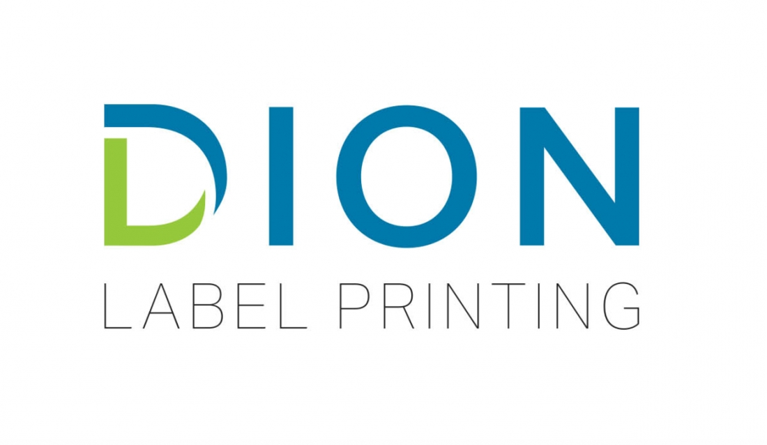 The new Dion Label Printing logo