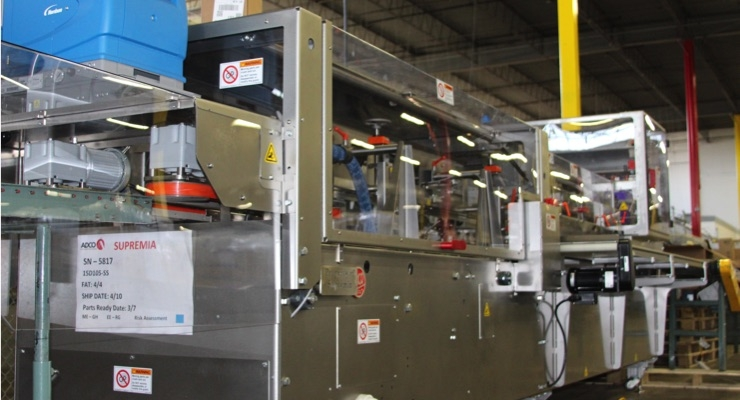Supremia Adds Cartoner to Packaging Operations
