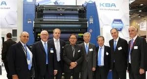 Sun Chemical and KBA-MetalPrint Partner on Metal Deco Inks