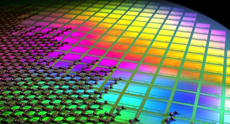Flagship researchers integrate graphene and quantum dots with CMOS technology to create an array of photodetectors, producing a high resolution image sensor. Image Credit: Fabien Vialla